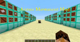 download armor movement mod for minecraft armormovementmod Download Armor Movement Mod for Minecraft