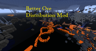 download better ore distribution mod for minecraft betteroredistributionmod Download Better Ore Distribution Mod for Minecraft