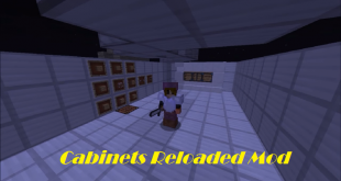 download cabinets reloaded mod for minecraft cabinetsreloadedmod Download Cabinets Reloaded Mod for Minecraft