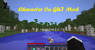 download character on gui mod for minecraft characteronguimod Download Character On GUI Mod for Minecraft