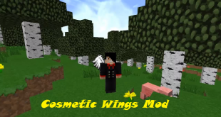 download cosmetic wings mod for minecraft cosmeticwingsmod Download Cosmetic Wings Mod for Minecraft