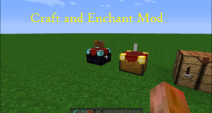 download craft and enchant mod for minecraft craftandenchantmod Download Craft and Enchant Mod for Minecraft