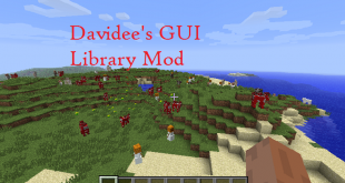 download davidees gui library mod for minecraft davideesguilibrarymod Download Davidee's GUI Library Mod for Minecraft