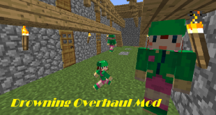 download drowning overhaul mod for minecraft drowningoverhaulmod Download Drowning Overhaul Mod for Minecraft