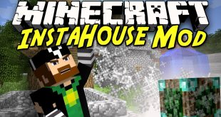 download insta house mod for minecraft InstaHouseMod Download Insta House Mod for Minecraft