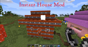 download instant house mod for minecraft instanthousemod Download Instant House Mod for Minecraft