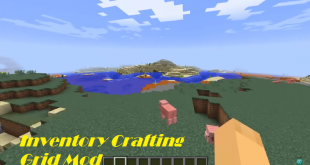 download inventory crafting grid mod for minecraft inventorycraftinggridmod Download Inventory Crafting Grid Mod for Minecraft