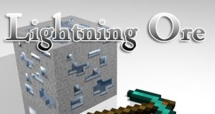 download lightning ore mod for minecraft LightningOreMod Download Lightning Ore Mod for Minecraft