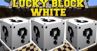 download lucky block white mod 1.16.51.15.2 LuckyBlockWhiteMod1 Download Lucky Block White Mod 1.16.5,1.15.2