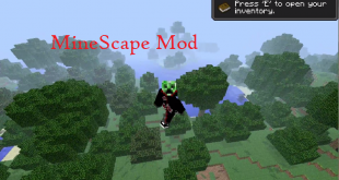 download minescape mod for minecraft minescapemod Download MineScape Mod for Minecraft