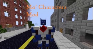 download mo characters mod for minecraft mocharactersmod Download Mo' Characters Mod for Minecraft