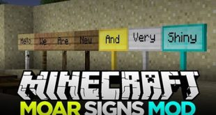 download moarsigns mod 1.10.21.8.91.8.9 wood signs metal signs MoarSignsMod Download MoarSigns Mod 1.10.2->1.8.9->1.8.9 (Wood Signs, Metal Signs)