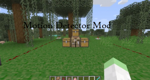 download motion detector mod for minecraft motiondetectormod Download Motion Detector Mod for Minecraft