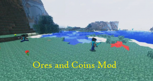 download ores and coins mod for minecraft oresandcoinsmod Download Ores and Coins Mod for Minecraft