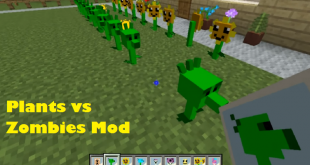 download plants vs zombies mod for minecraft plantsvszombiesmod Download Plants vs Zombies Mod for Minecraft