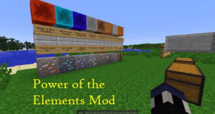 download power of the elements mod for minecraft poweroftheelementsmod Download Power of the Elements Mod for Minecraft