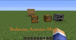 download redstone armour mod for minecraft redstonearmourmod Download Redstone Armour Mod for Minecraft
