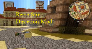 download retro sun direction mod for minecraft retrosundirectionmod Download Retro Sun Direction Mod for Minecraft