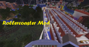 download rollercoaster mod for minecraft rollercoastermod Download Rollercoaster Mod for Minecraft