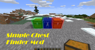 download simple chest finder mod for minecraft simplechestfindermod Download Simple Chest Finder Mod for Minecraft
