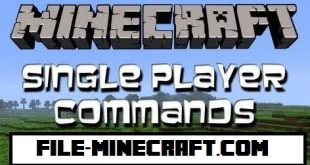 download single player commands mod for minecraft SinglePlayerCommands1 Download Single Player Commands Mod for Minecraft