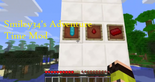 download smiley34s adventure time mod for minecraft smiley34sadventuretimemod Download Smiley34's Adventure Time Mod for Minecraft
