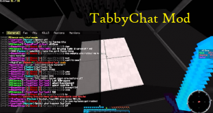 download tabbychat mod for minecraft tabbychatmod Download TabbyChat Mod for Minecraft
