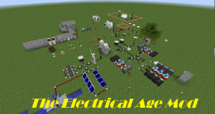 download the electrical age mod for minecraft theelectricalagemod Download The Electrical Age Mod for Minecraft