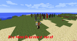 download toomucharmor mod for minecraft toomucharmormod Download TooMuchArmor Mod for Minecraft